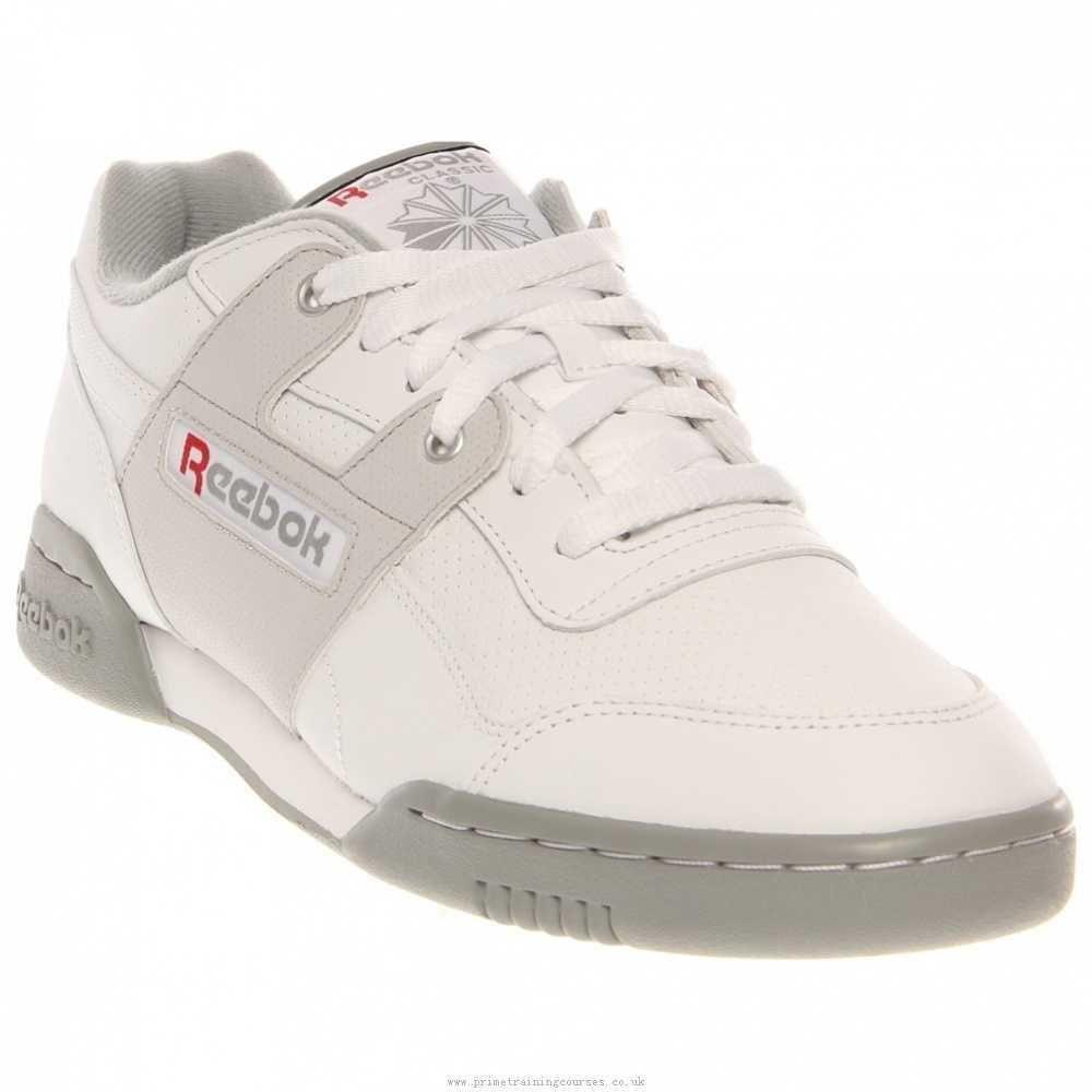 NEW REEBOK WORKOUT PLUS White Leather MENS 12 Classic NIB Limited Reebok  Athletic