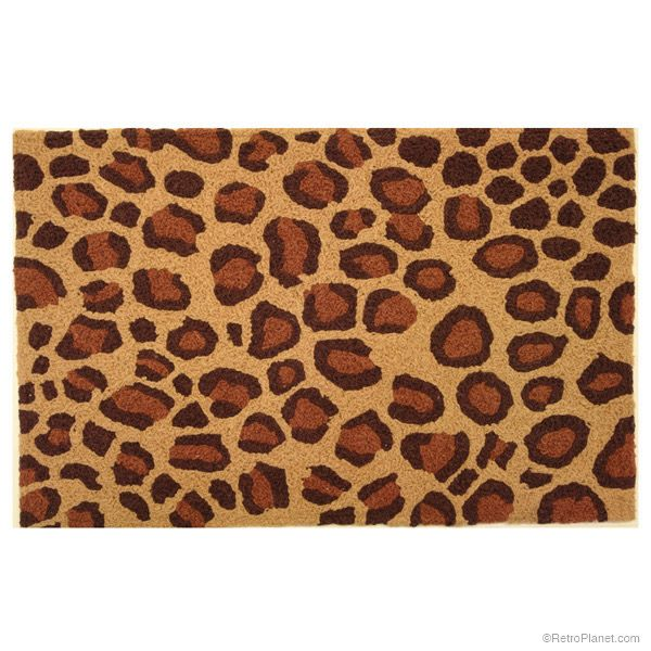 Leopard Print Area Rug Accent Rugs Retroplanet Com