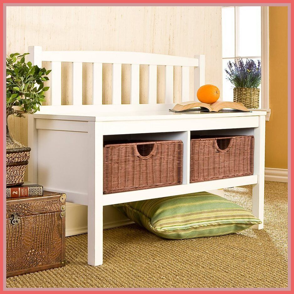 51 reference of bench Storage white in 2020 Indoor bench