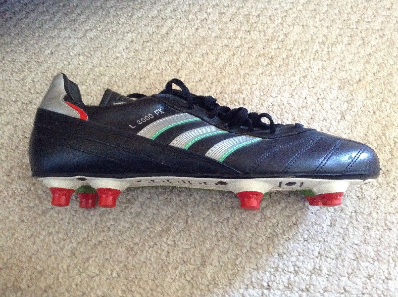 Adidas L3000 Fx Rare Vintage Football Boots 80 S World Cup Ebay