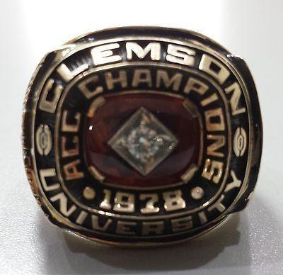 1978 Gator Bowl Championship Clemson University Ring 462598158 Gator Bowl University Rings Clemson