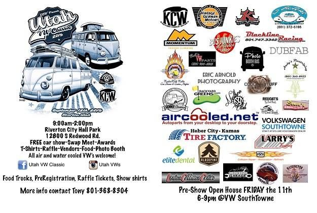 Shine Up Your Vw And Pre Register With The Utah Transporter Ociation For Gest Car Show Southtowne Will Be Hosting