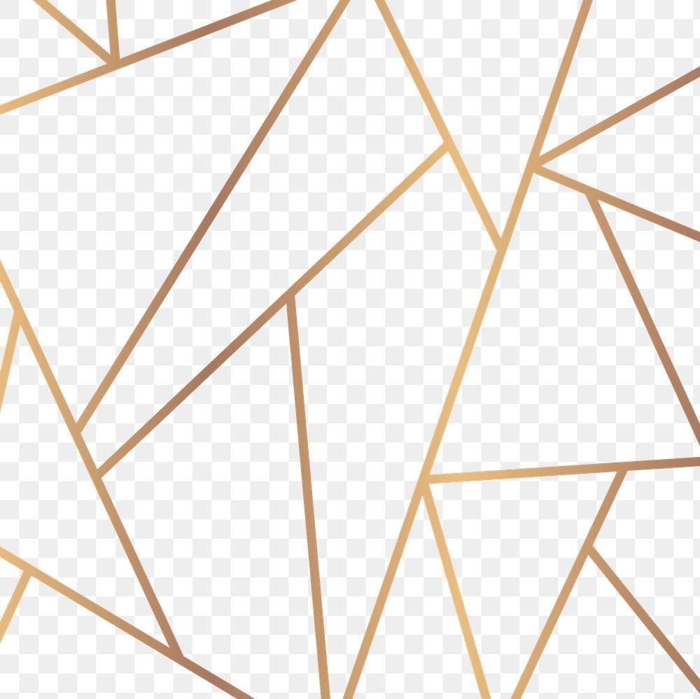 Gold Geometric Triangle Png Background Free Image By Rawpixel Com Sasi In 2021 Background Patterns Backdrops Backgrounds Background Design