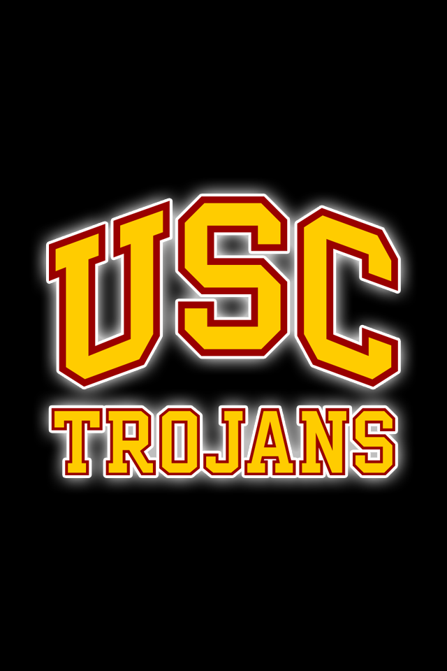 Get A Set Of 12 Officially Ncaa Licensed Usc Trojans Iphone Wallpapers Sized For Any Model Of Iphone With You Usc Trojans Logo Usc Trojans Usc Trojans Football