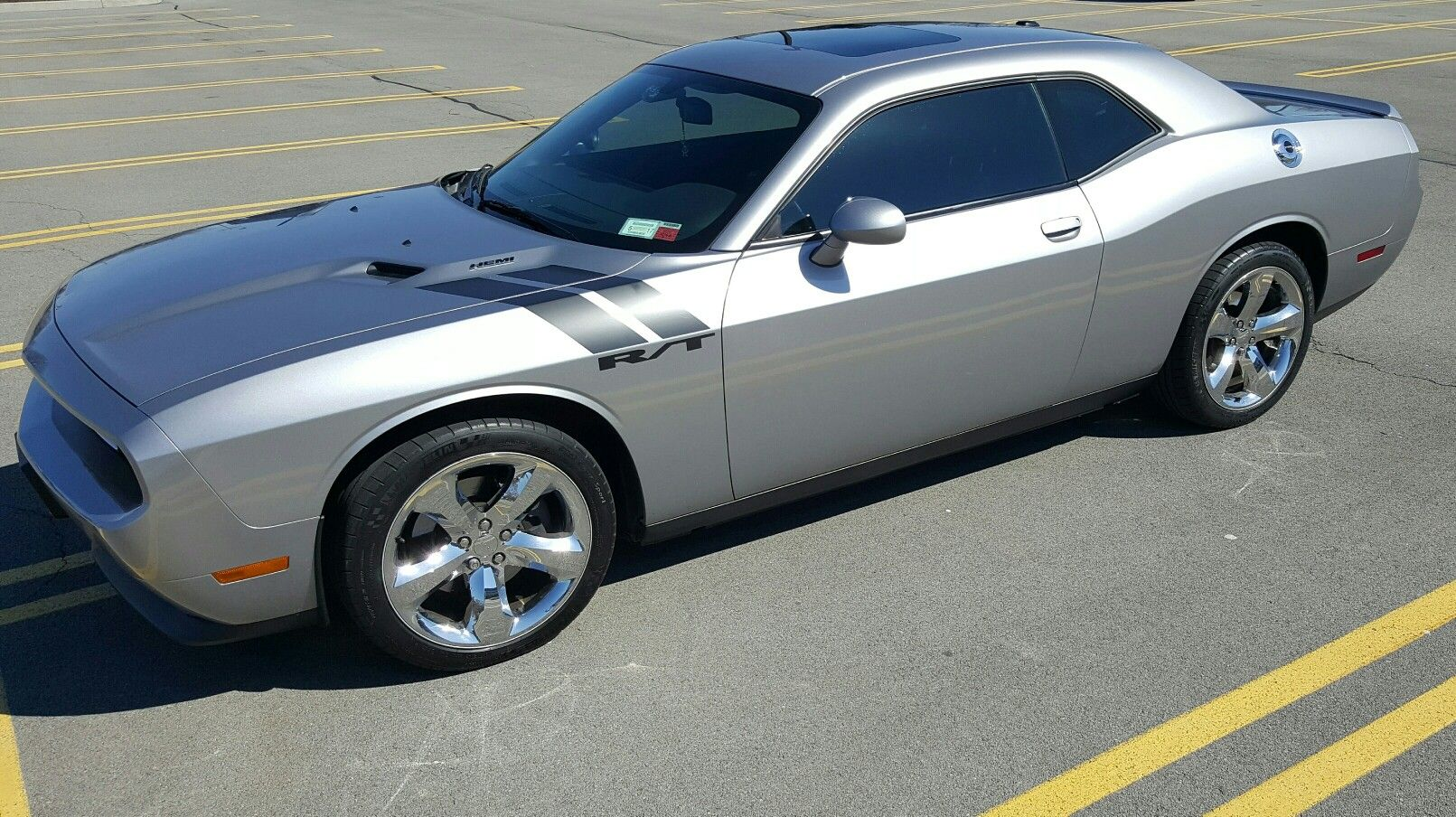 Draw your own lines with a Dodge Challenger! -Challenger Joe ...