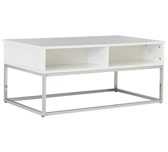 Sensational Buy Hygena Storage Coffee Table White At Argos Co Uk Pdpeps Interior Chair Design Pdpepsorg