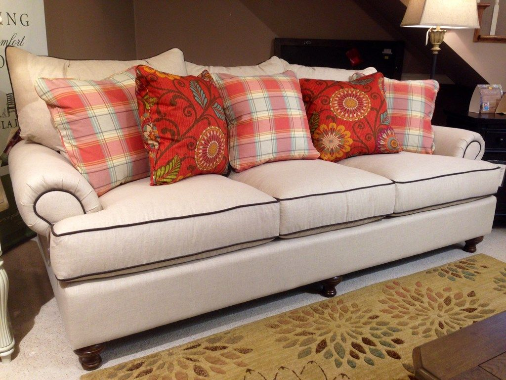 This casual sofa from the paula deen home collection is one of our
