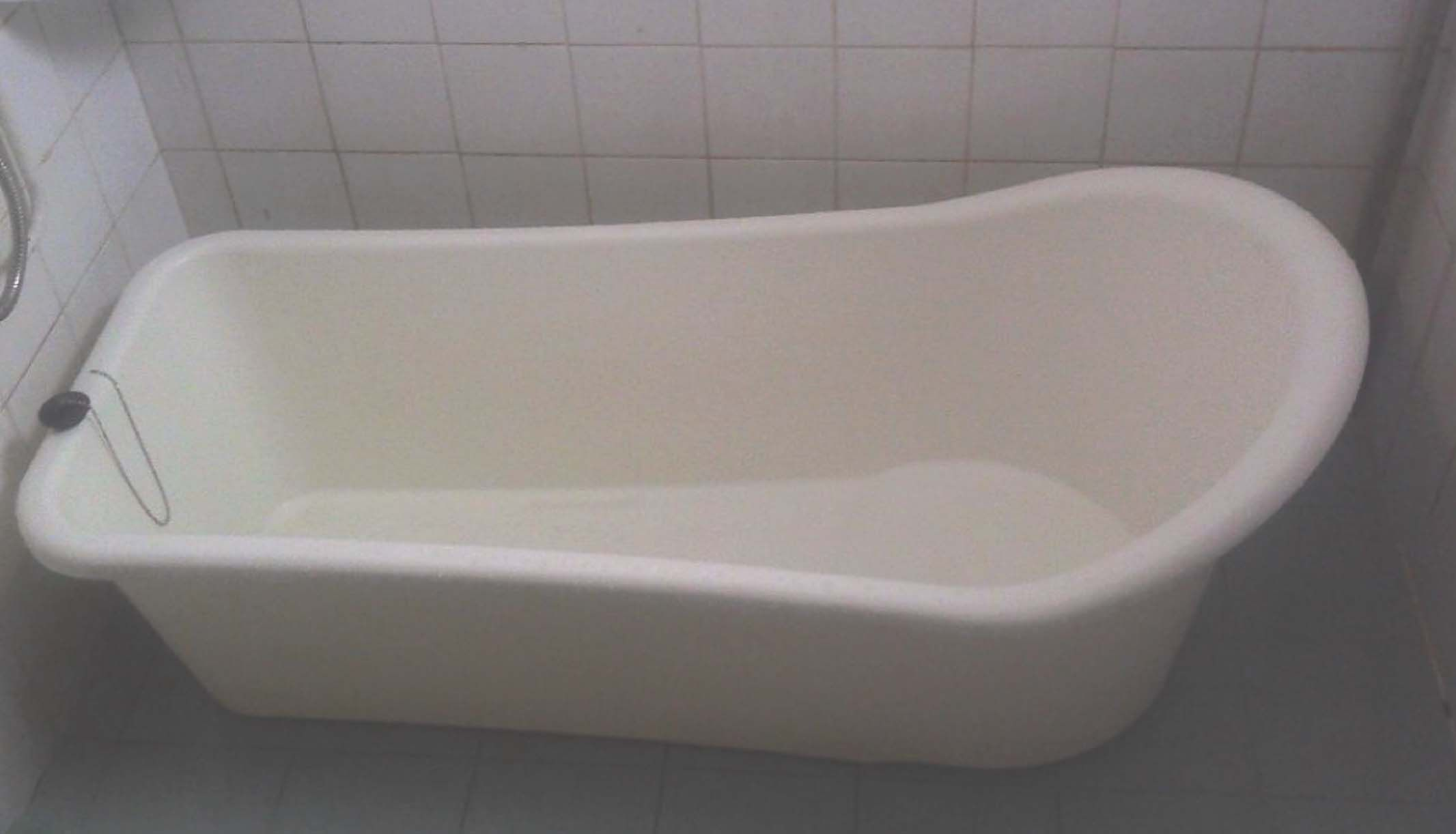 White Long Portable Bathtub For The Home Pinterest