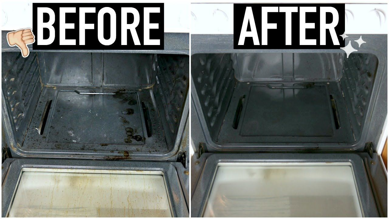 How To Clean Your Oven With Baking Soda Vinegar Updated