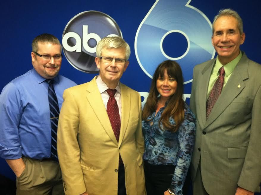 Rob Visited Wsyx Abc 6 Last Night To Volunteer For The Abc 6 On Your Side Ask An Attorney In He Tooks And Answered Legal Questions From Viewers