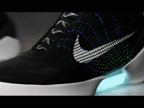 Nike is finally making self-tying shoes but youll have to put up with lights