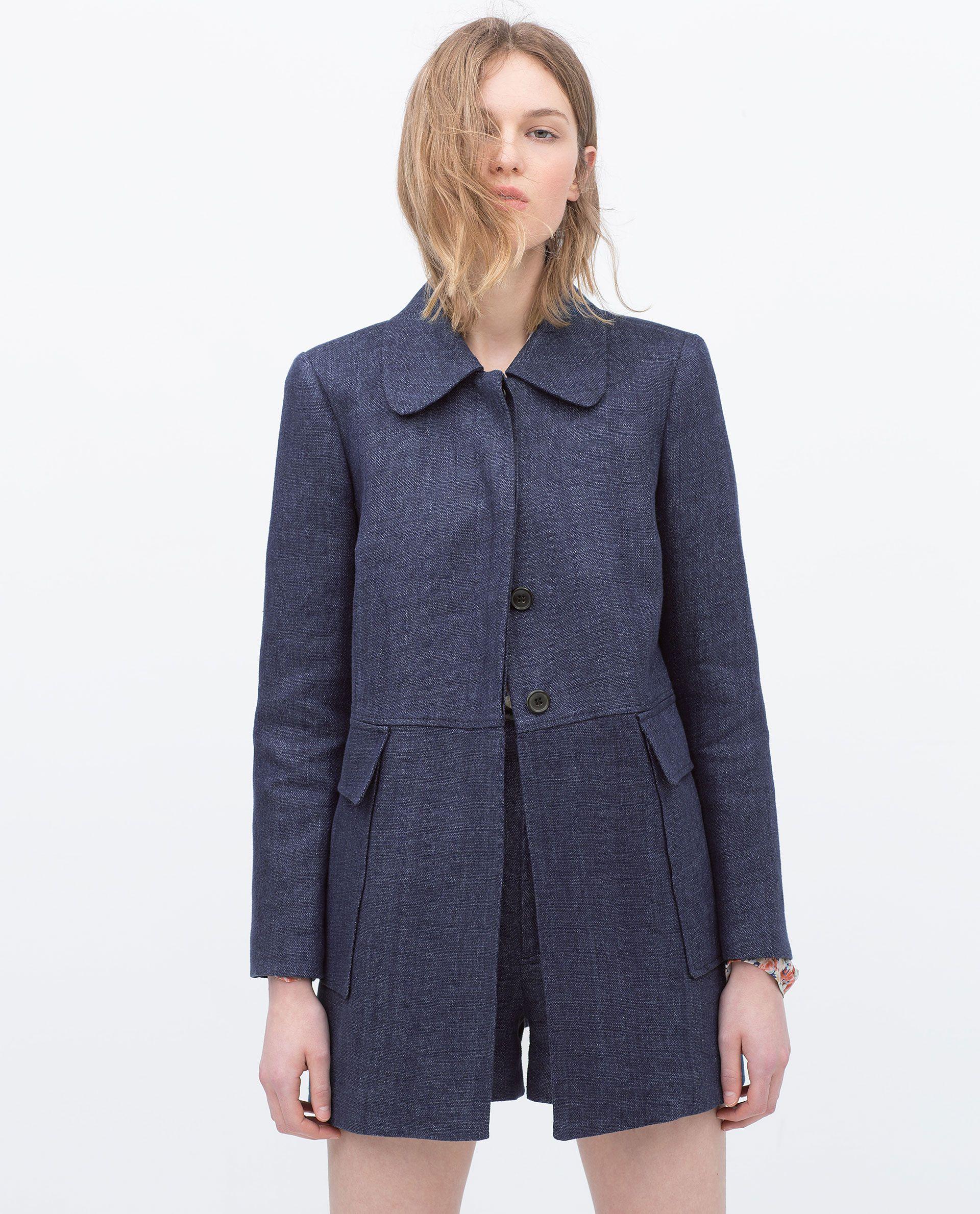 Visualizza Colletto Con Tutto Zara Donna Cappotto Cappotti Egpqgn