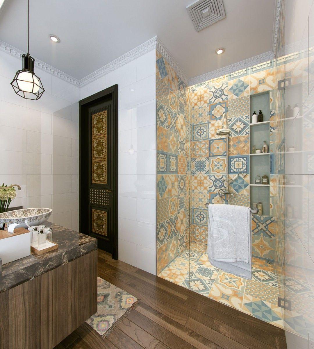 Bathroom Design Ethnic Design
