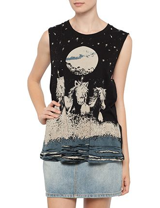 Image for Moondance Boyfriend Tank from StoreName