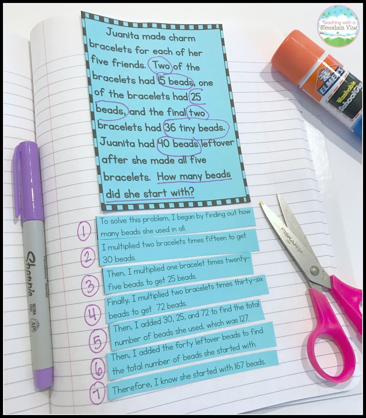 Mastering Multi-Step Word Problems | Pinterest | Word problems ...