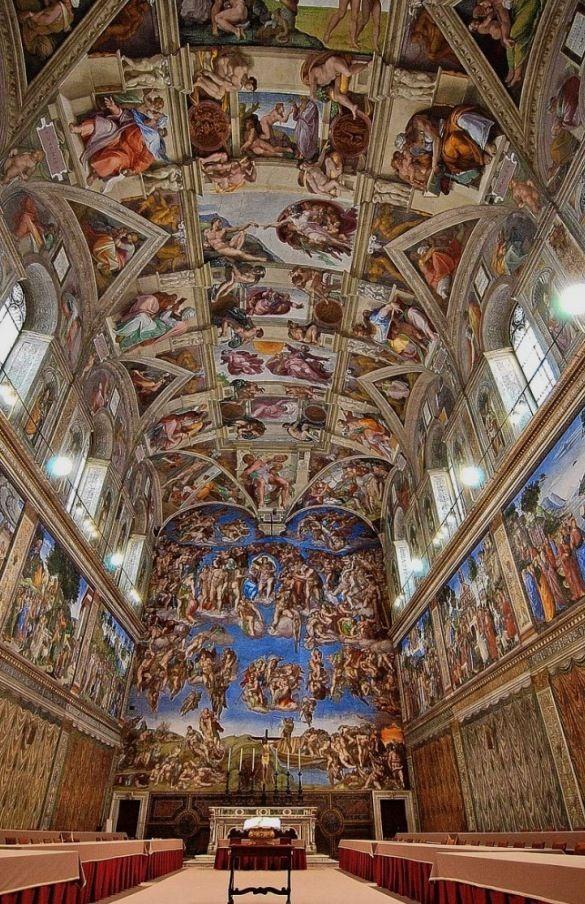 Michelangelo's Sistine Chapel- No Words To Describe How