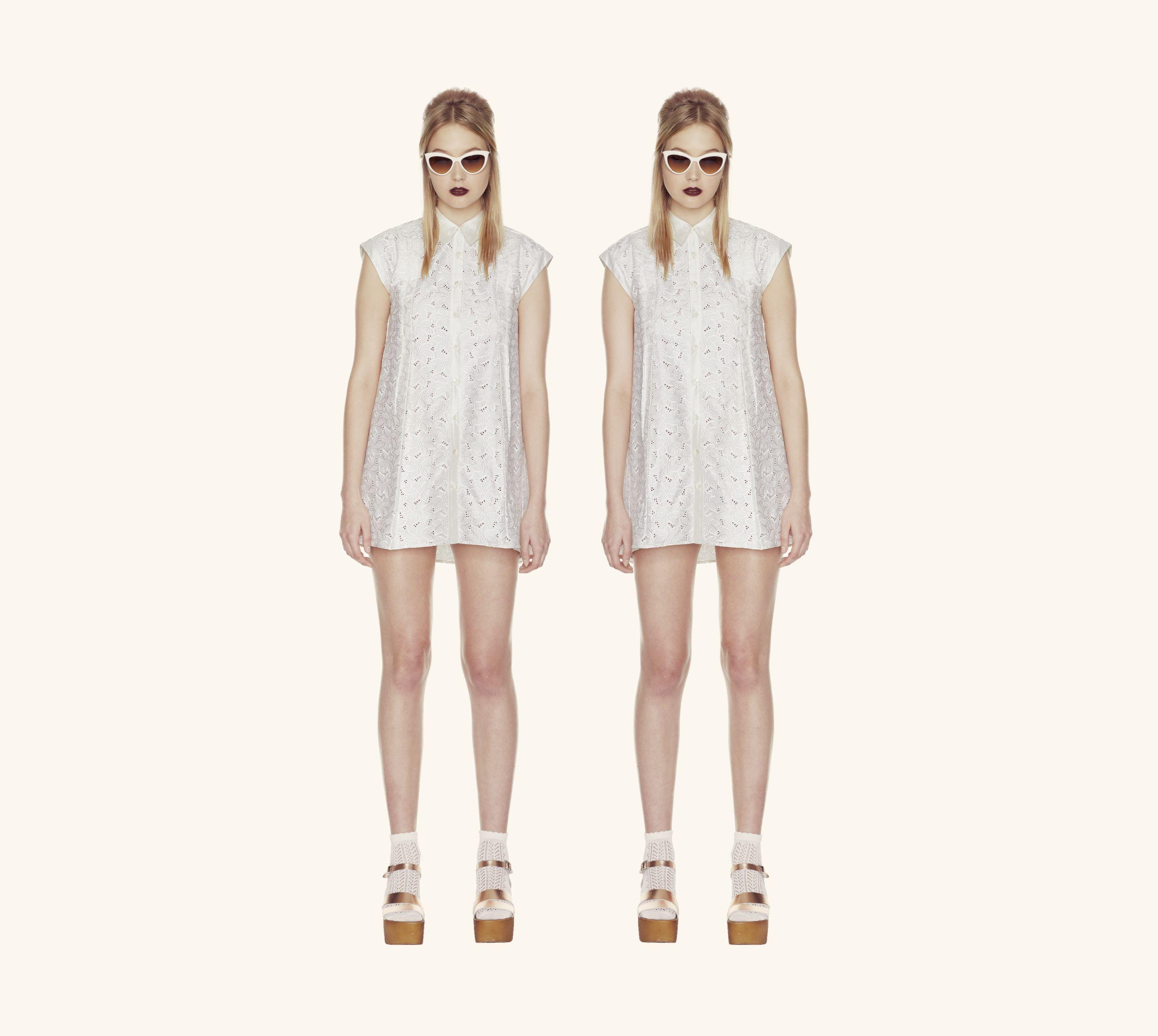 Theadora Buttondown Dress