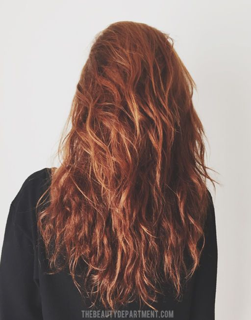AIR DRYING FOR BETTER CURLS | Wavy hair tips, Air dry wavy hair, Long wavy  hair