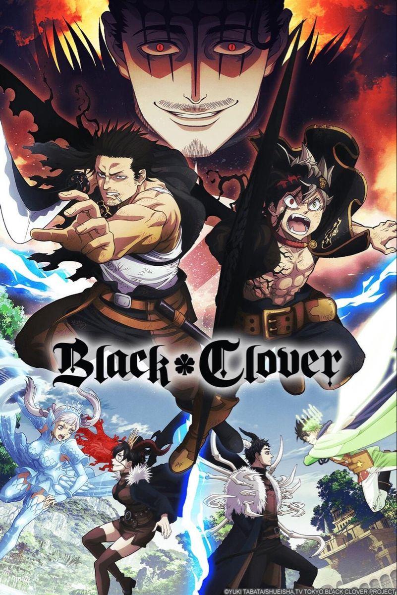 Spade Kingdom Arc Black Clover Anime Black Clover Manga Anime