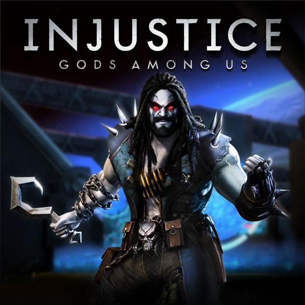 Lobo Injustice Comic Villains Injustice Game