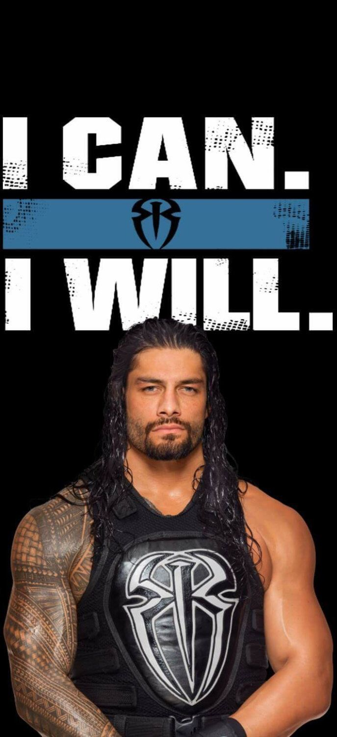 WWE Roman Reigns design perfect size for phone wallpapers