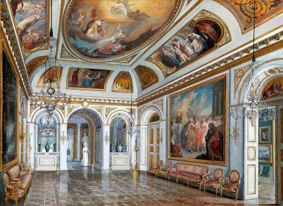 Solomon Room In The Palace On The Water In Warsaw By Ludomir