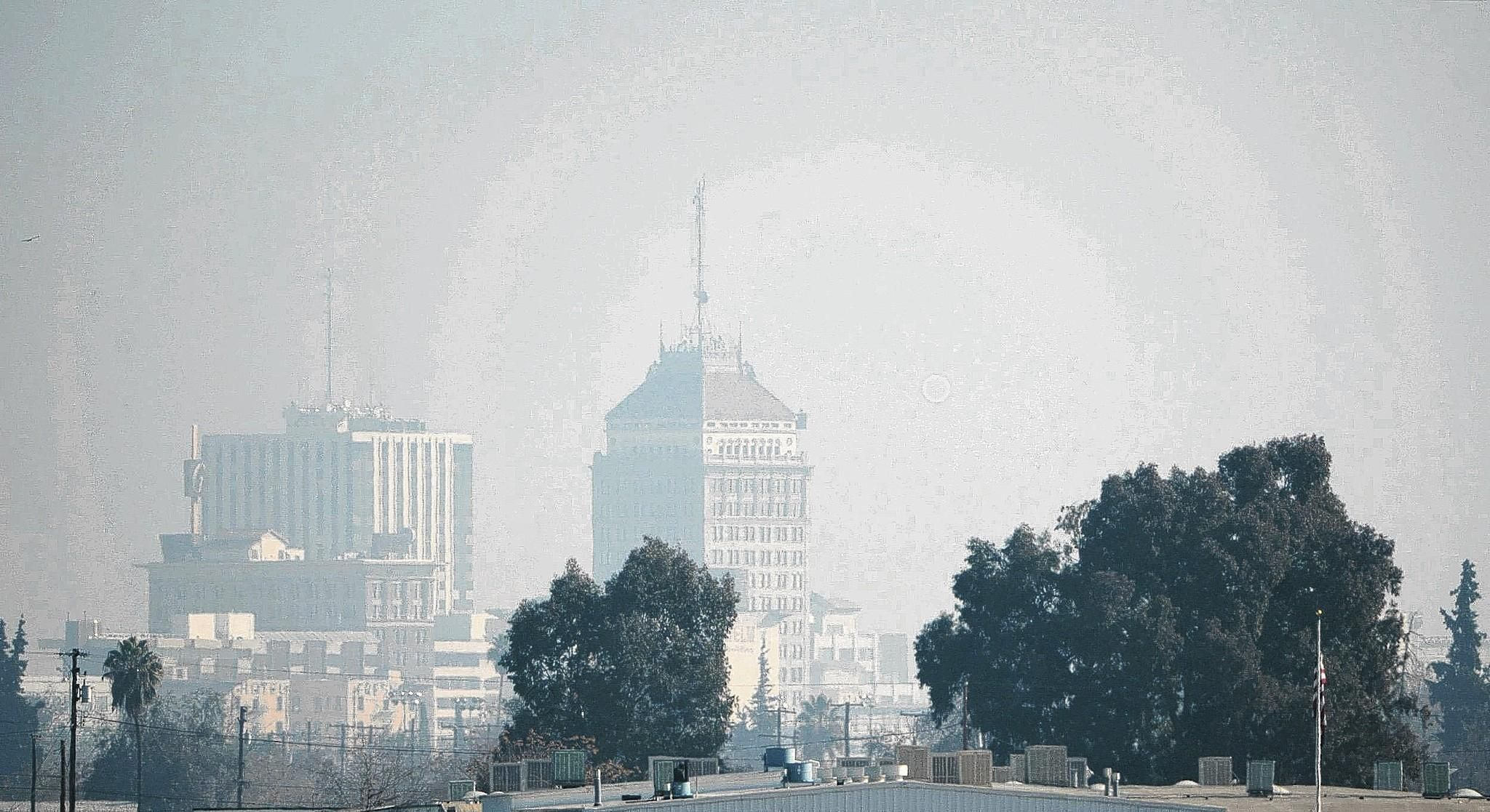 Heavy pollution in Fresno Air pollution, Ecology