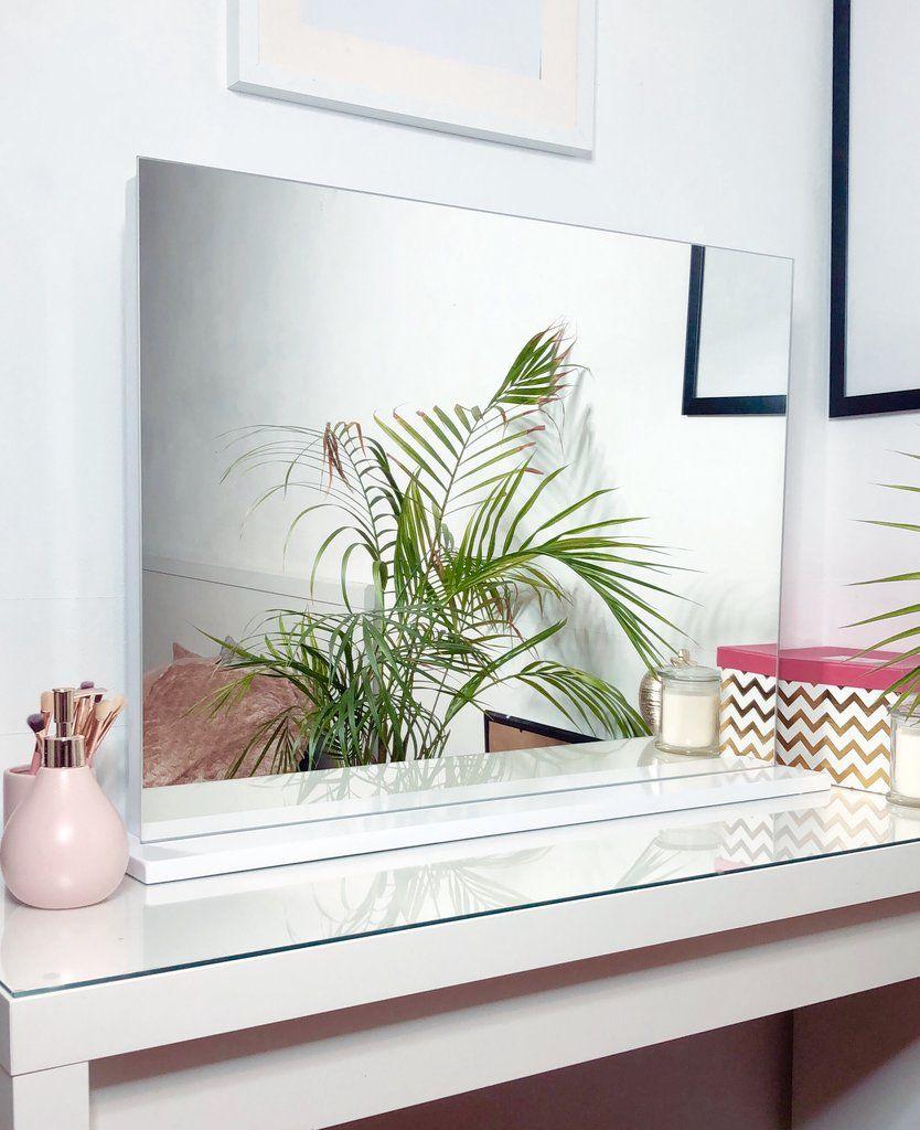 The Chelsea Frameless Dressing Table Top Mirror Dressing
