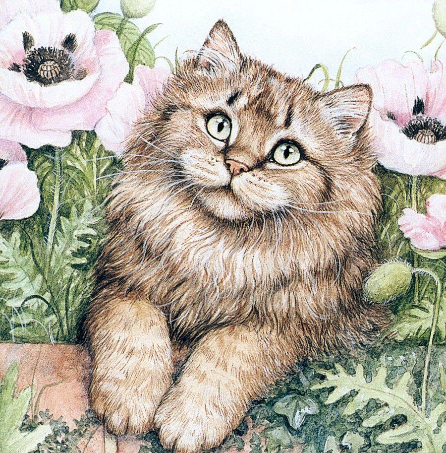 Картинки с рисованными кошками