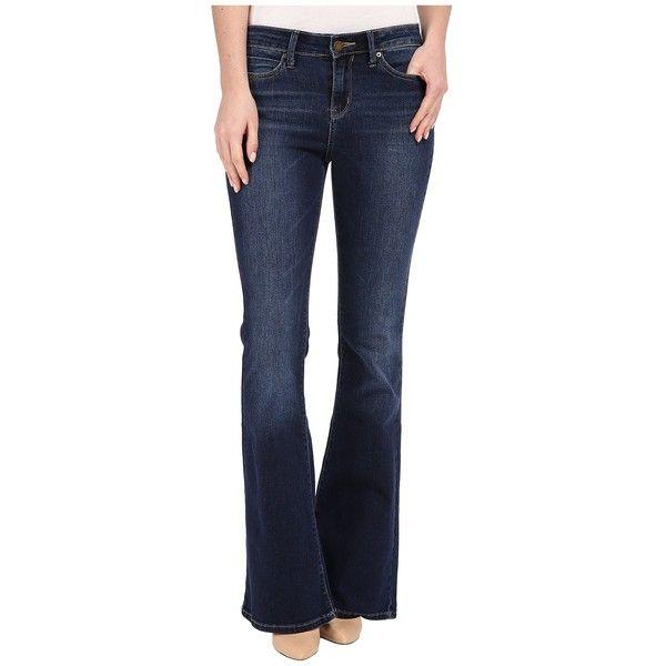 Calvin Klein Jeans Flare Jean in Inky Medium Women's Jeans ($80) ❤ liked on