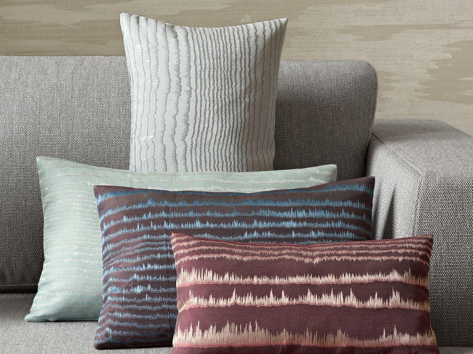 Zimmer + Rohde, living room, Wohnzimmer, cushions, Kissen, Sofa ...