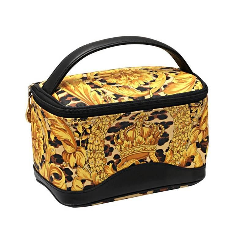 Gianni Versace Baroque Print Mini Bag  265e74a3529f0