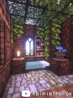 Minecraft Garden Fairy Tiny House 🍄🌿✨ Fairytale Cottagecore Fairycore Magic Easy 🌸 Kelpie The Fox