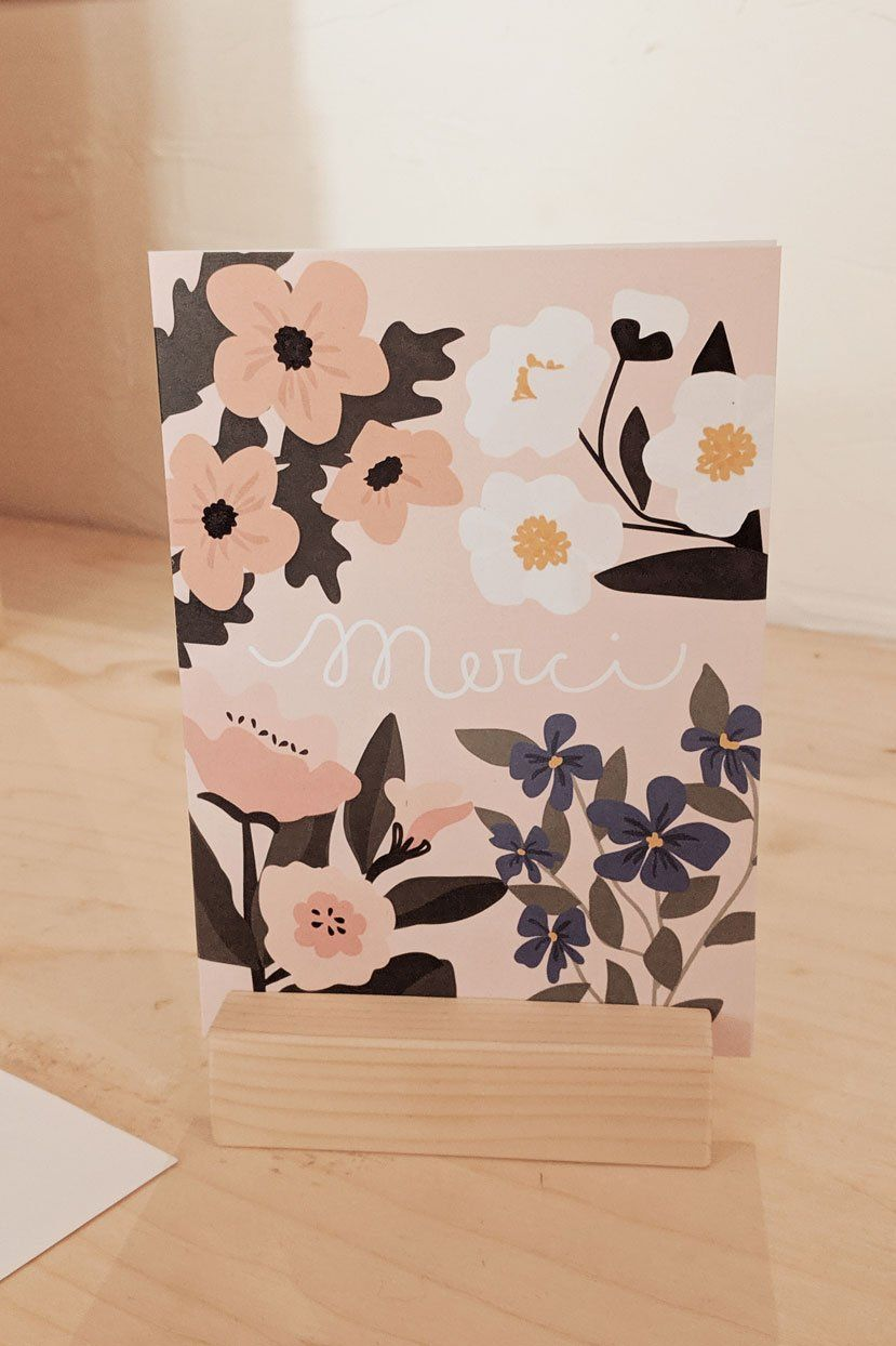 Merci Greeting Card