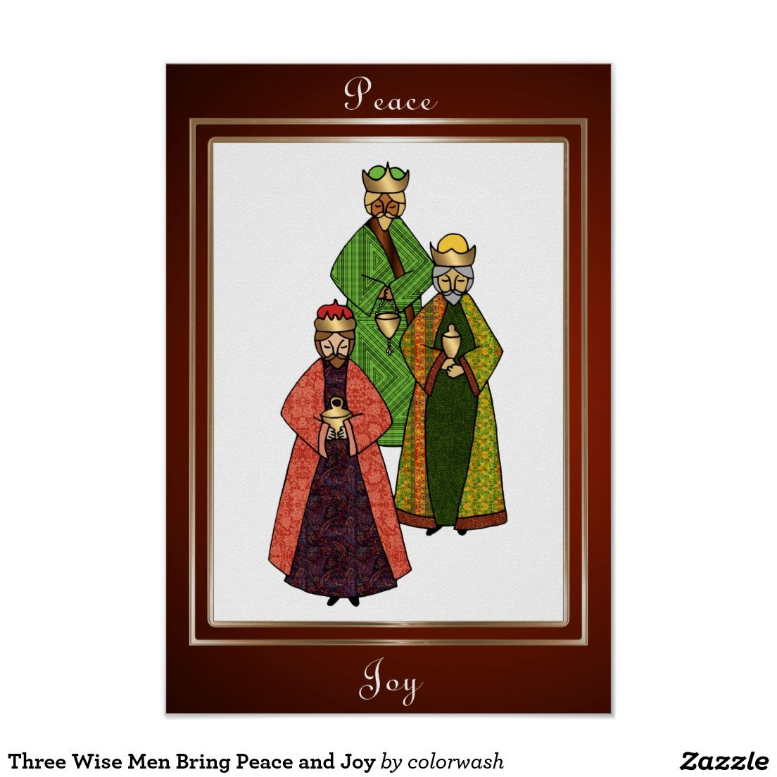 Create your own Poster Three wise men, We
