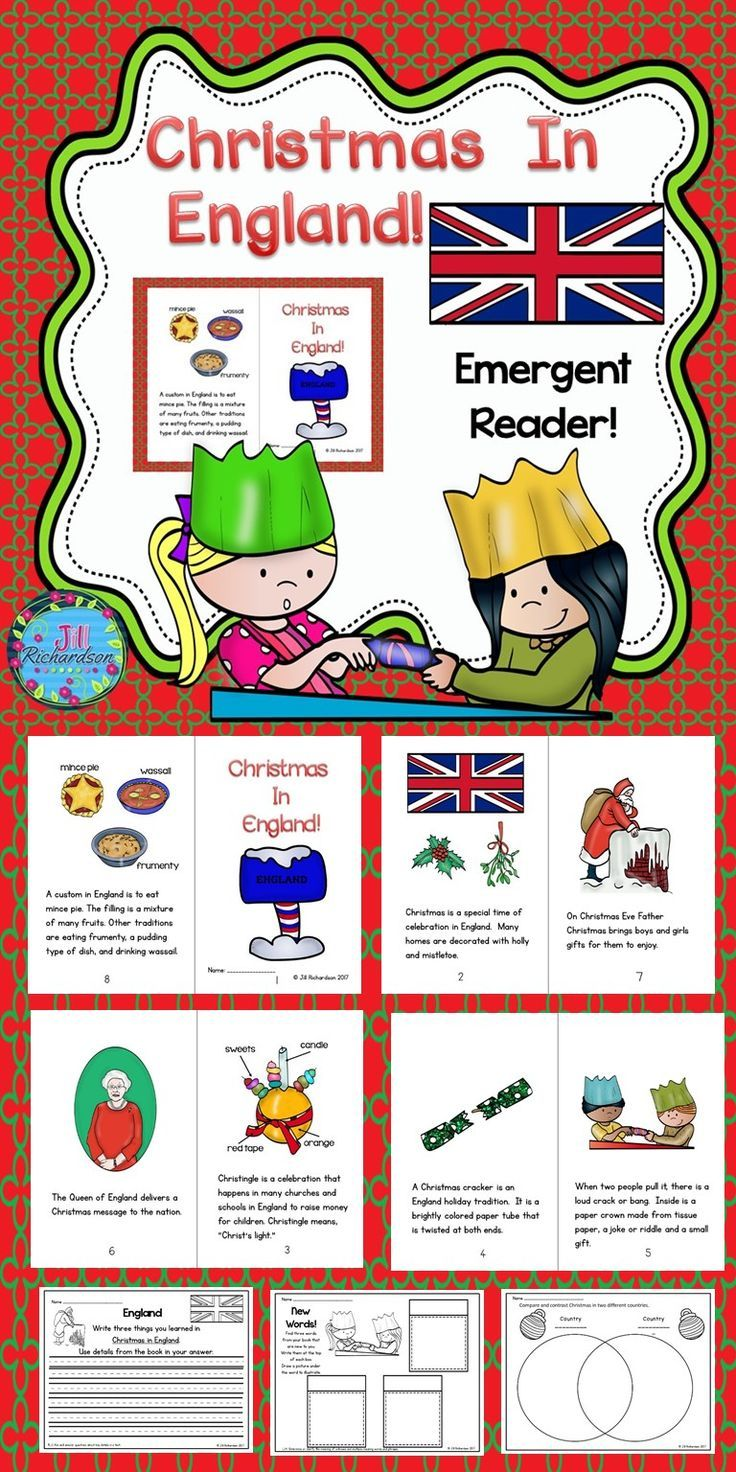Christmas Around The World England Emergent Reader Christmas In