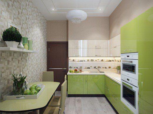 кухня 3 на 3 метра дизайн фото 7