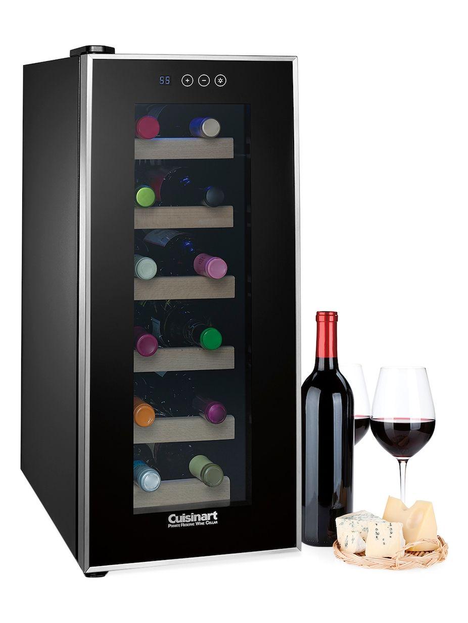 Cuisinart 12 Bottle Private Reserve Wine Cellar Wine Bottle Wine Cellar Wine