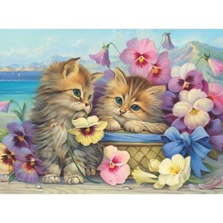 Friends Forever 1000 Piece Jigsaw Puzzle Puzzles Cats