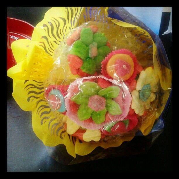 Bouquet de bonbons!
