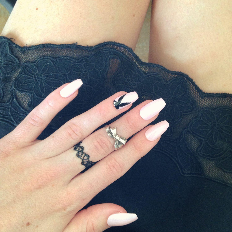 ballerina french nails - Αναζήτηση Google   nail art   Pinterest ...
