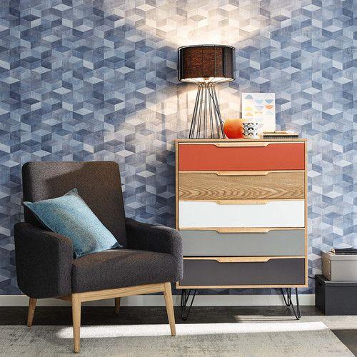 Vintage Wood Multicoloured Chiffonier Twist Affordable Furniture Furniture Vintage Wood