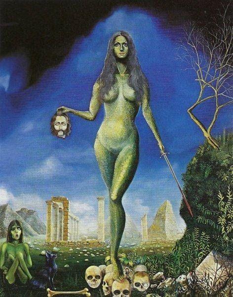 * Jean Thomassen - - - Perseus meets Medusa