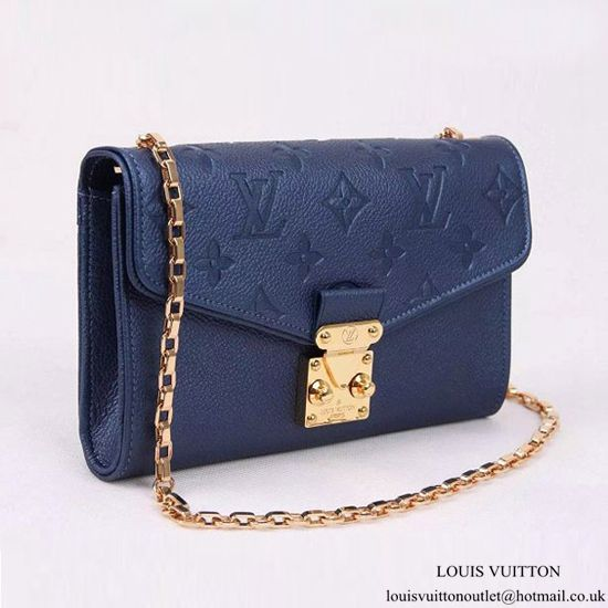 6c2e5f660a39 Louis Vuitton M60745 Pochette Saint-Germain Crossbody Bag Monogram  Empreinte Leather