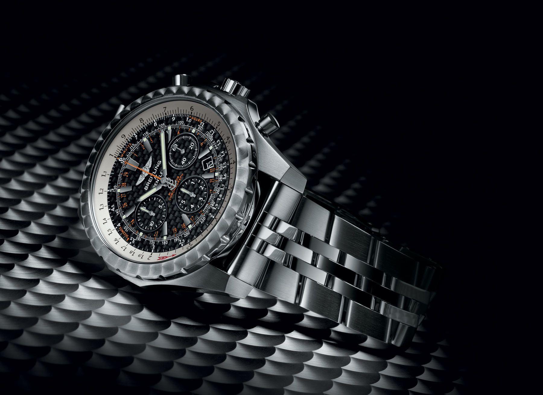 breitling bentley chronograph in ref motors seconds t steel chronometer special watch edition auto gt