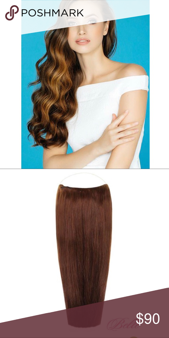 Chocolate Brown Halo Belle Hair Extensions Boutique My Posh Picks