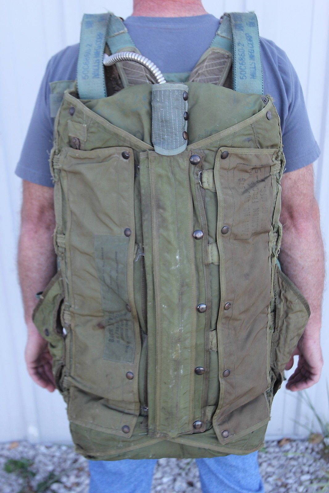 1952 Fashion Frocks USAF Military Personnel Backpack