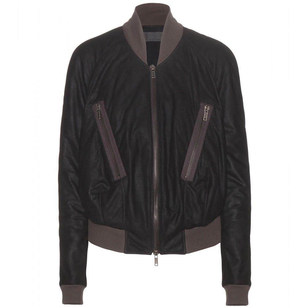 Haider Ackermann - Suede bomber jacket - The very definition of ...