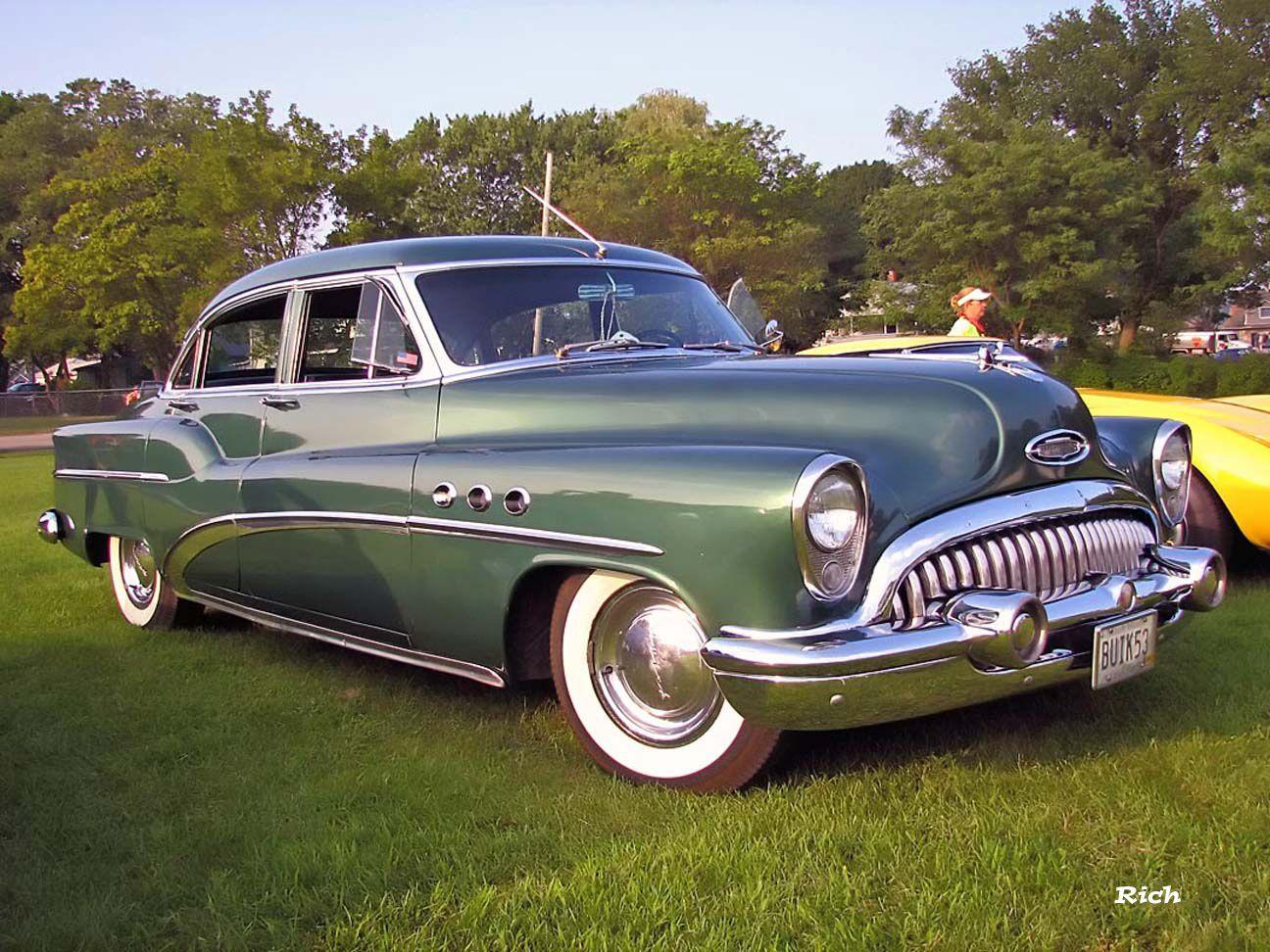 1953 buick super 4 door sedan