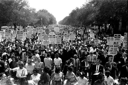 Martin Luther King March 1963